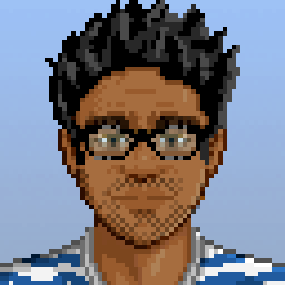 profile avatar of morukutsu (pixel art)